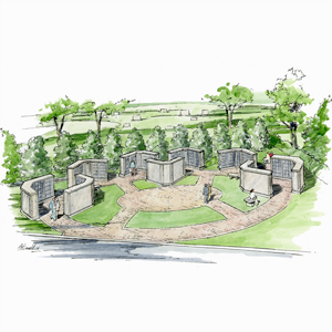 Rendering of Springwood Columbarium
