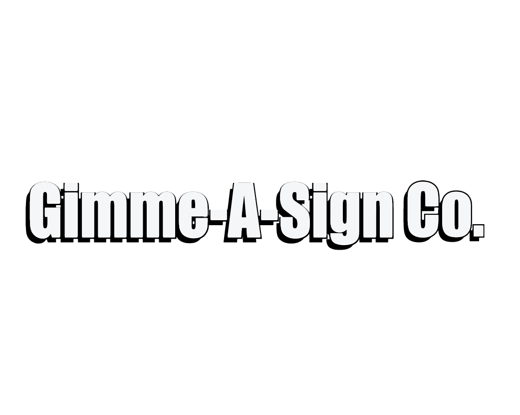 Gimme A Sign logo